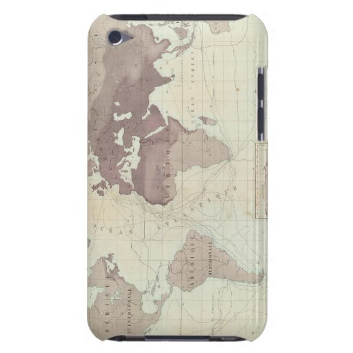 Historical World Map iPod Touch Case-Mate Case
