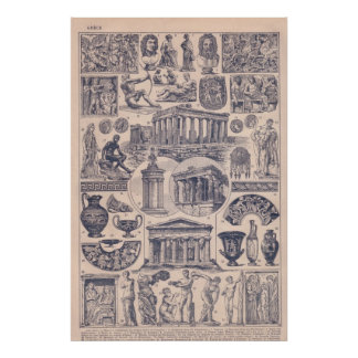 History, Ancient Greece, Poster