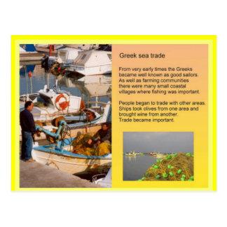 History,  Ancient Greece, sea trade Postcard
