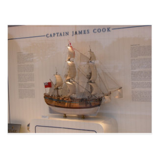 History, Explorers, Captain James Cook Postcard