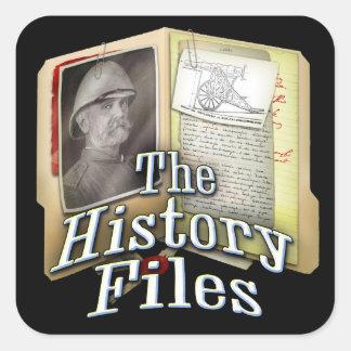 History Files sticker