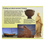 History, Finding out about ancient Greece Poster