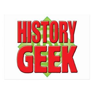History Geek v2 Postcard