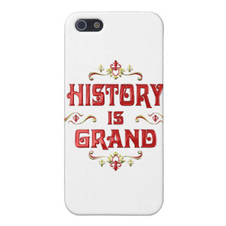 History is Grand iPhone 5 Case