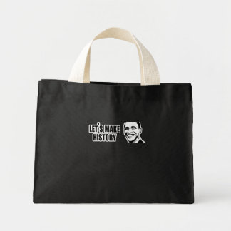 History Obama Bumper 5.png Mini Tote Bag