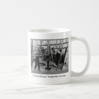 History Of Oil Drilling, Roughnecks Coffee Mug
