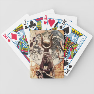 history of religious ideas bicycle playing cards