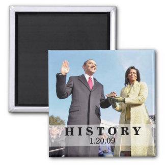 HISTORY: President Obama Inauguration Refrigerator Magnets