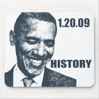 HISTORY - President Obama Inauguration Mouse Pad