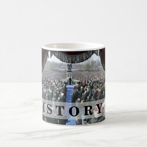 HISTORY: President Obama Inauguration Speech Coffee Mug