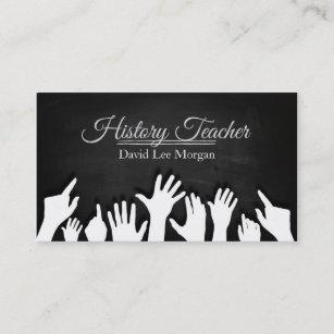 History teacher business cards zazzle au history teacher business card reheart Image collections