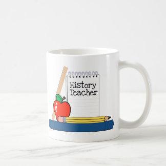 History Teacher (Notebook) Coffee Mugs
