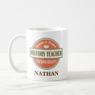 History Teacher Personalised Office Mug Gift