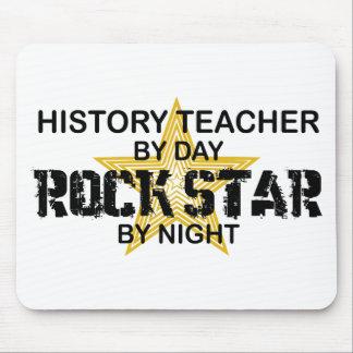 History Teacher Rock Star Mouse Pad