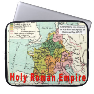 History War and Peace Holy Roman Empire Computer Sleeve