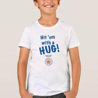 Hit `em with a HUG! Kids' Hanes T-Shirt