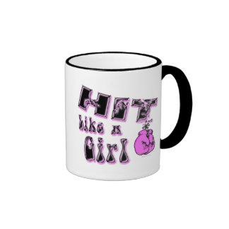 Hit Like A Girl Mug
