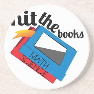 Hit The Books Coaster