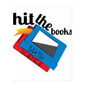 Hit The Books Postcard