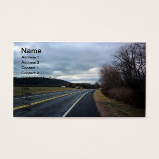 Hit The Highway Business Card