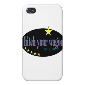 Hitch your Wagon to a Star Cover For iPhone 4