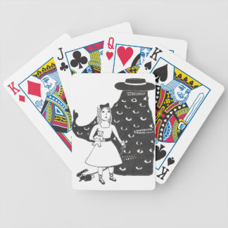 Hitchhikers From The Rough Part of Fairyland Bicycle Playing Cards