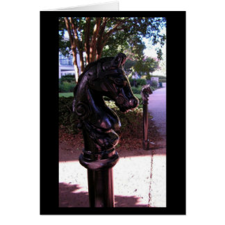 Hitching Post Card