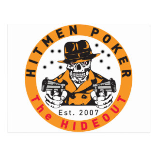 Hitmen Poker Swag Postcard