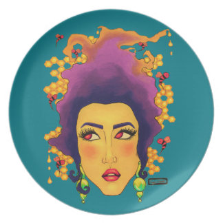 Hive Dinner Plate