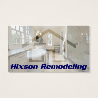 Hixson Remodeling Business Card