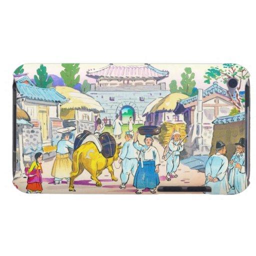 Hiyoshi Mamoru Korean  Market japanese scenery art iPod Touch Case
