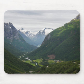Hjelle valley in Norway mousepad