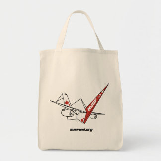 HJSF Logo Grocery Tote Bag