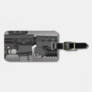 HK417 with M203 Luggage Tag