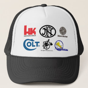 HK-Logo, football_FNH USA, LLC, Colt_Logo, KAC-    Trucker Hat