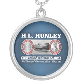 HL Hunley (CSA) Silver Plated Necklace
