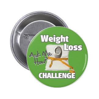 HL Weight Loss Challenge 6 Cm Round Badge