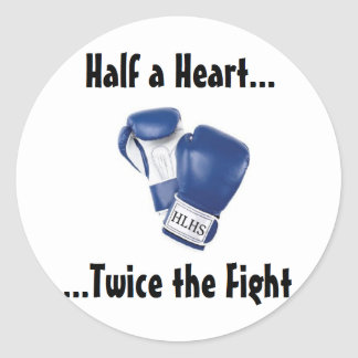 HLHS Fight Products Classic Round Sticker