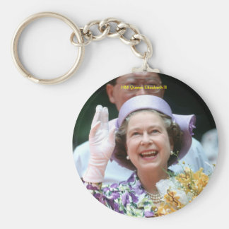HM Queen Elizabeth II-Hong Kong-1987 Key Ring