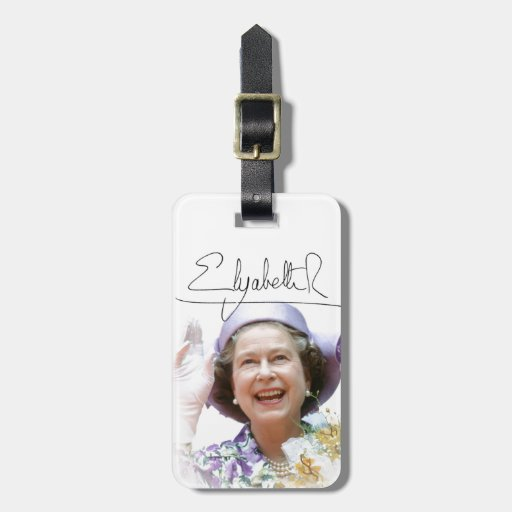 HM Queen Elizabeth II Tags For Luggage