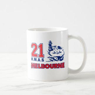 HMAS Melbourne Stuff Basic White Mug