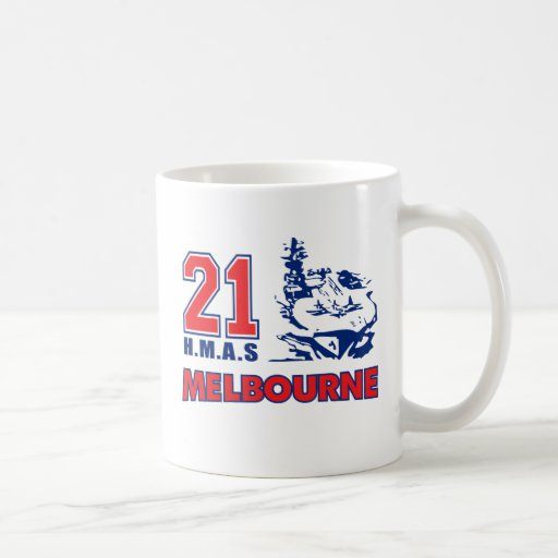HMAS Melbourne Stuff Coffee Mug