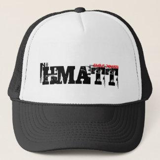 HMATT TRASHED STYLE TRUCKER HAT