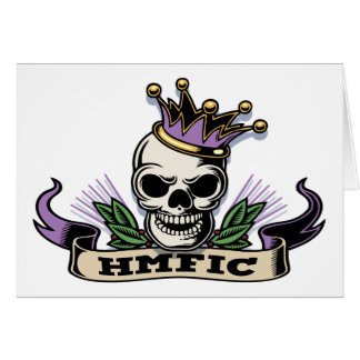HMFIC GREETING CARD
