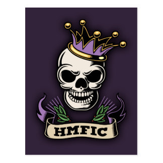 HMFIC POSTCARD