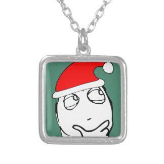 hmm xmas meme necklace