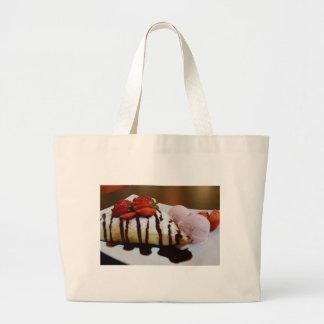 Hmmm, Pancake! Large Tote Bag