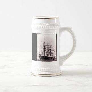 HMS Agincourt 1865 Beer Stein