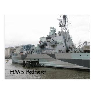 HMS Belfast Postcard