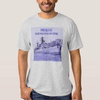 HMS Belfast Sketch T Shirt